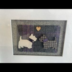Handmade in Scotland Dog Picture Frame.